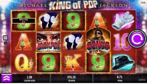 Výherní automat Michael Jackson King of Pop