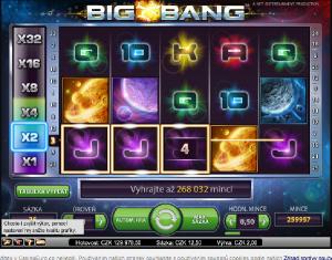 Výherní automat Big Bang