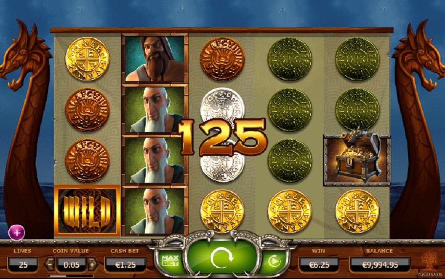 Spilleautomater Vikings Go Wild gratis