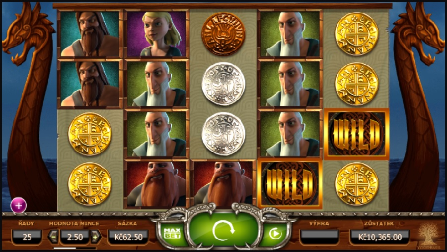 Herní automat Vikings go Wild