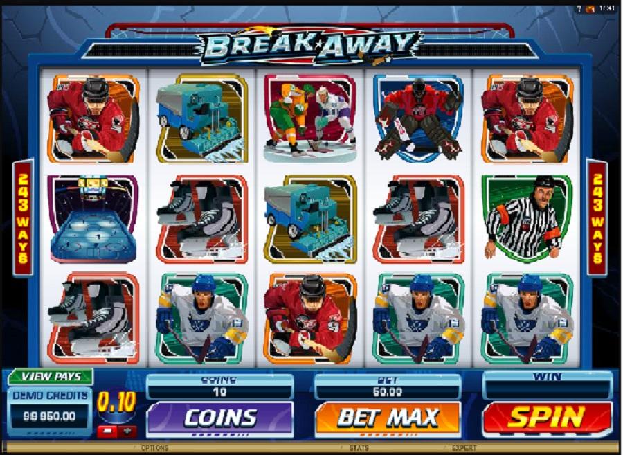 Hrací automat Break Away