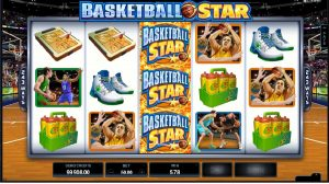 Výherní automat online Basketball Star