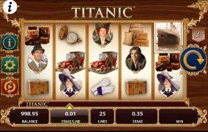 Herní automat Titanic