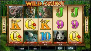 Výherní automat Wild Orient