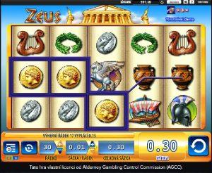 Výherní automat Zeus