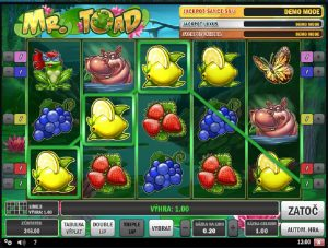 Online automat Mr Toad