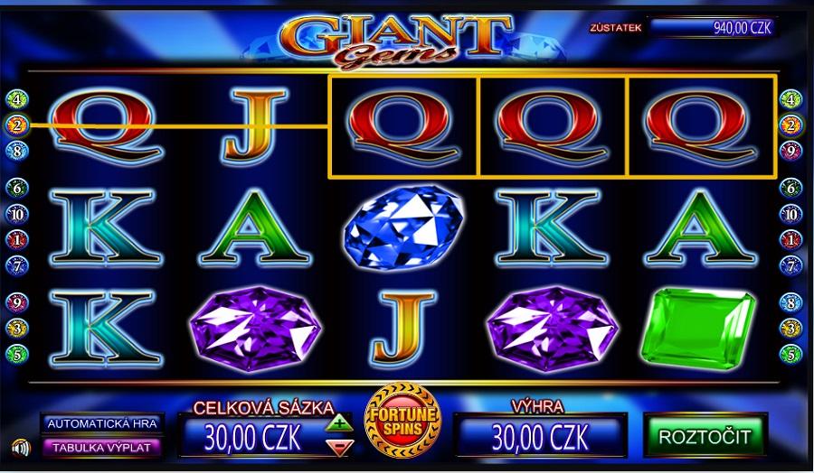 Online automat Giant Gems
