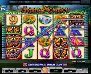Automat online Grand Monarch