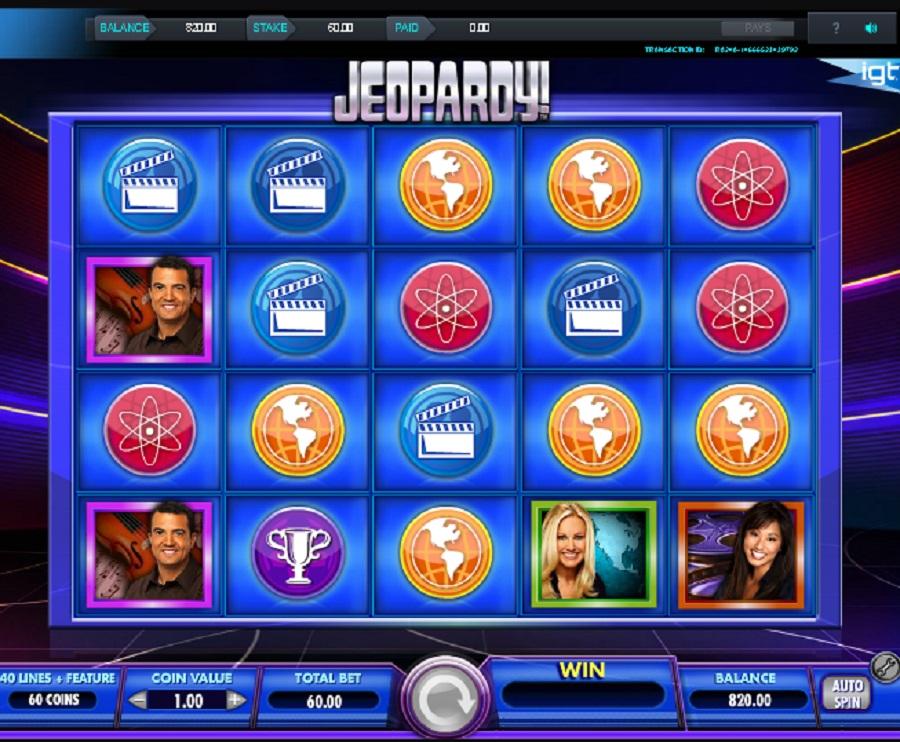Jeopardy online automat