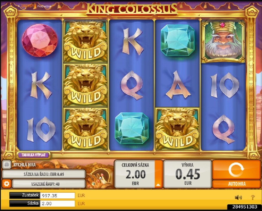 King Colossus online automat zdarma