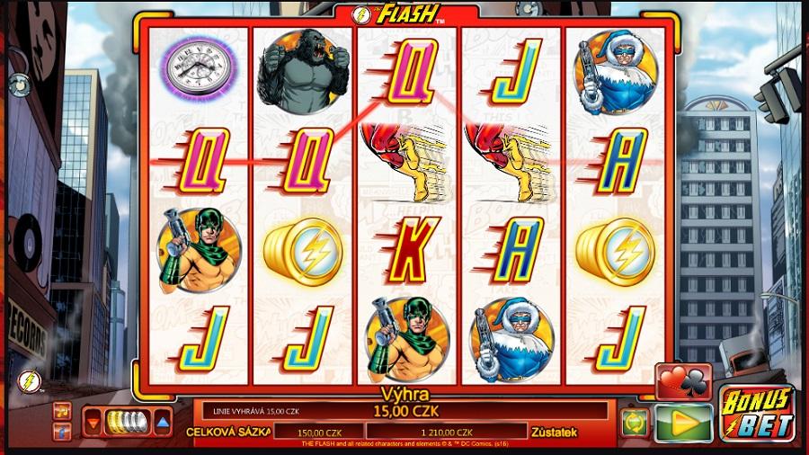 The Flash výherní automat