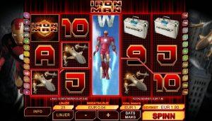 Iron Man slotmaskiner