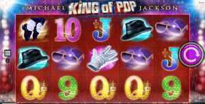Michael Jackson King of Pop spillautomat