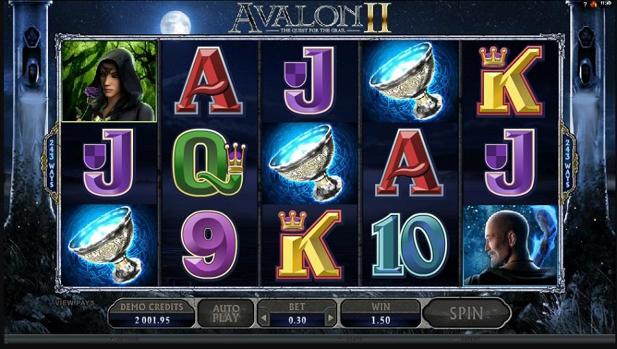 Avalon 2 zdarma automat