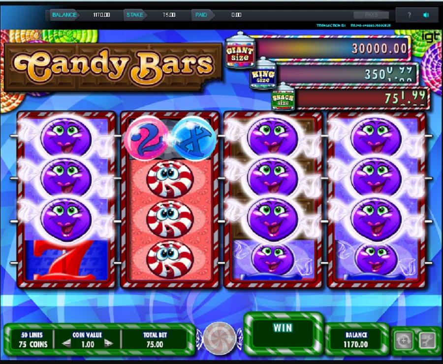 Candy Bars výherní automat online
