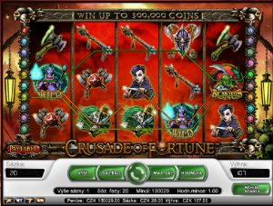 Crusaders of Fortune zdarma automat