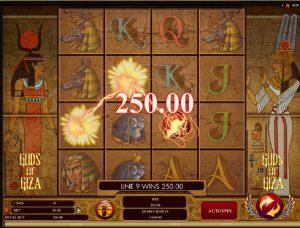 Gods of Giza výherní automat