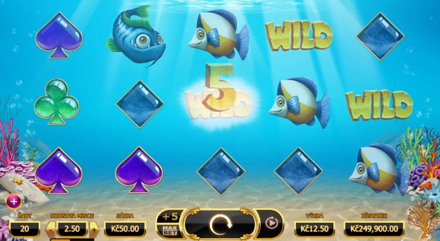 Herní online automat Golden Fish Tank