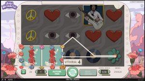 Jimi Hendrix herní automat