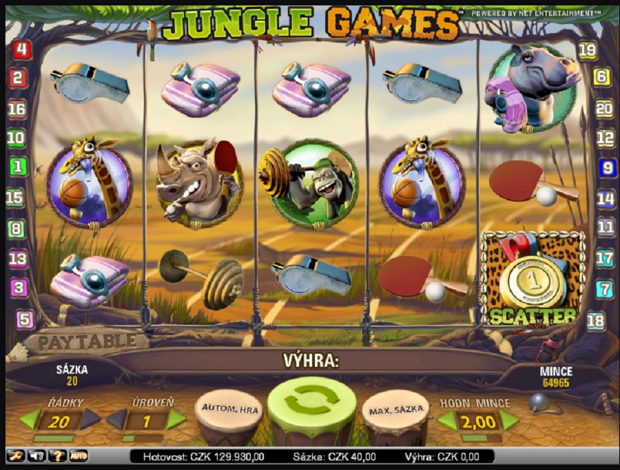 Jungle games online automat