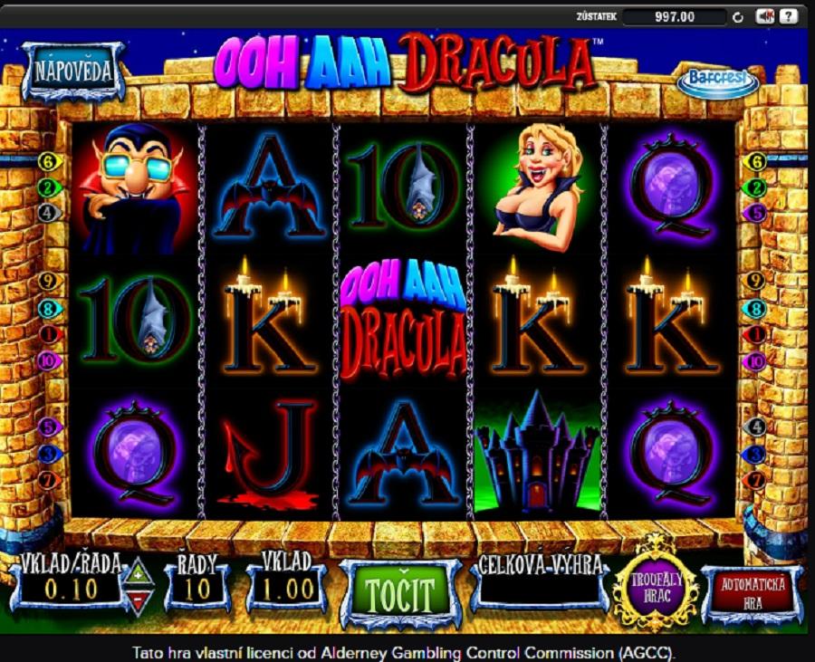Herní automat Ooh Aah Dracula