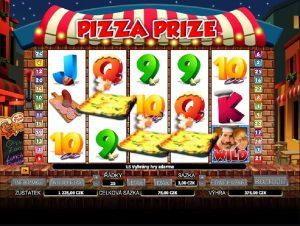 Výherní automat Pizza prize