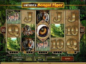 Výherní automat Untamed Bengal Tiger