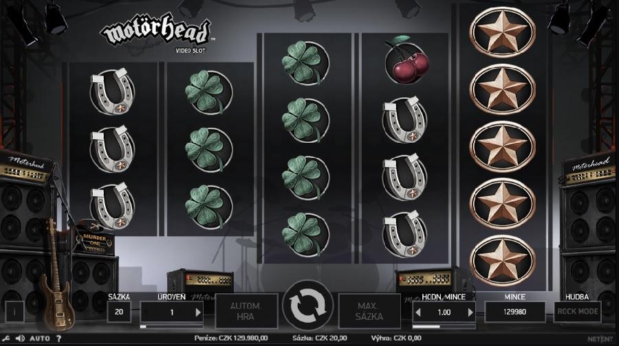 Výherní automaty MotörHead