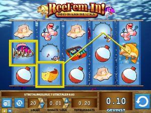 Reel 'Em In spillautomaten online