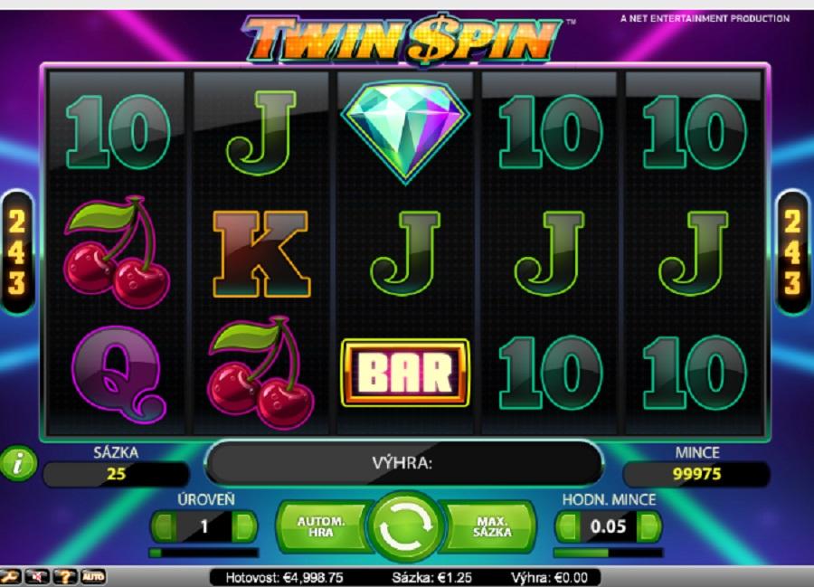 Herní automat Twin Spin