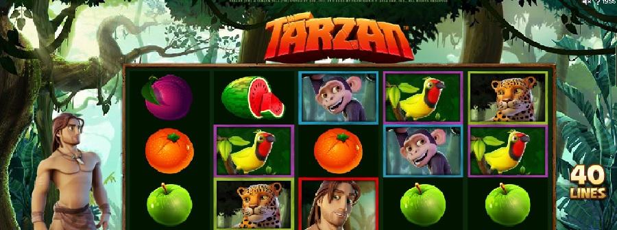 Automatová hra Tarzan