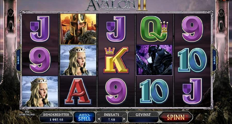 Spillautomaten Avalon 2