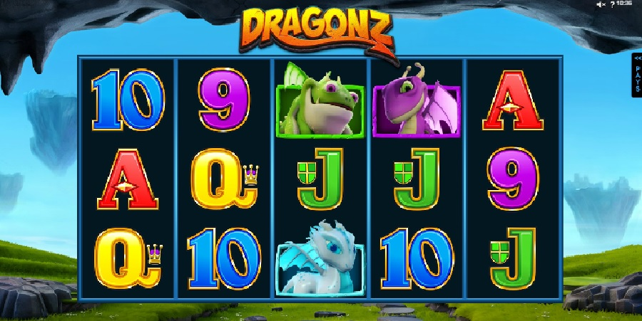 Dragonz video slots
