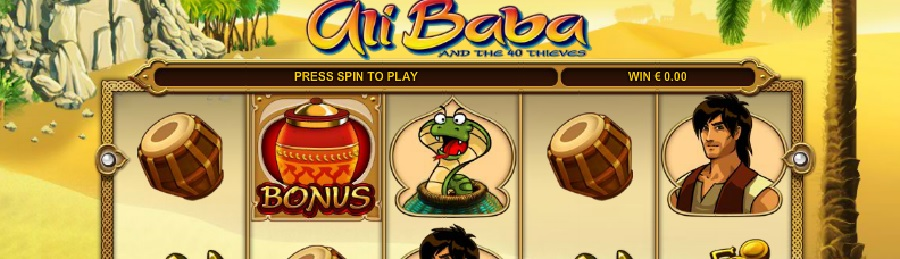 Alibaba and the 40 Thieves gratis spill