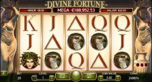 Divine Fortune spilleautomater gratis