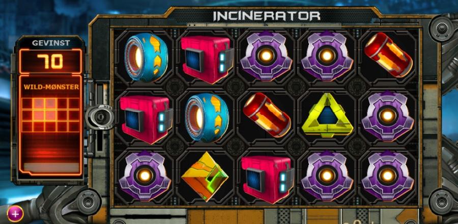 Incinerator spilleautomater gratis