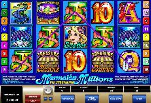 Mermaids Millions gratis spill