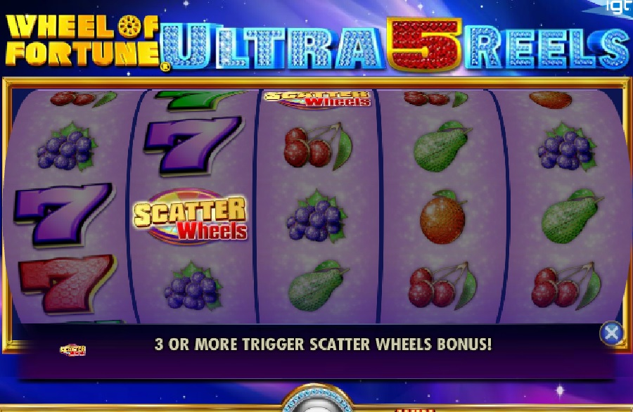 Wheel of Fortune Ultra 5 Reels free spilleautomater