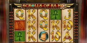 Video sloty Scrolls of Ra