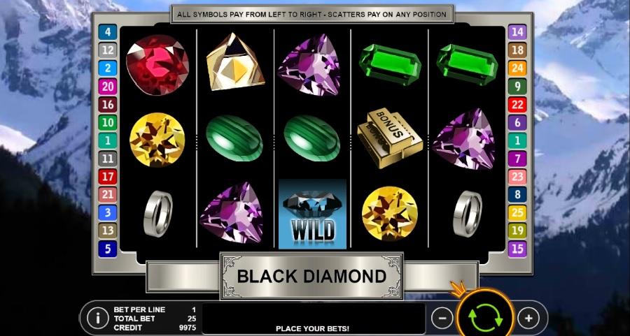 Norske Spilleautomater Black Diamond