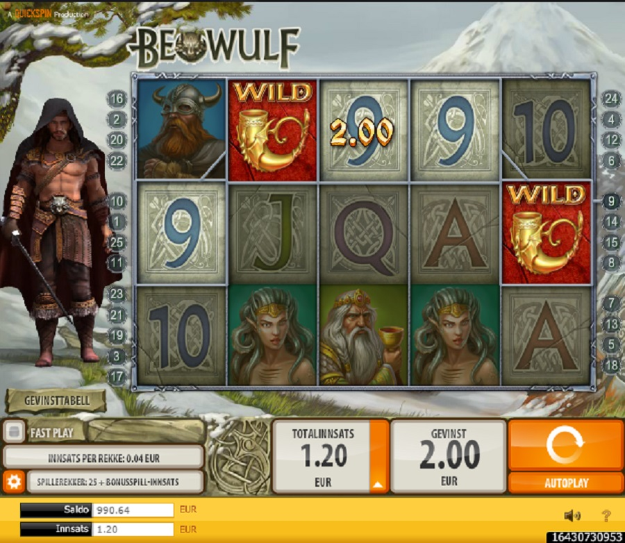 Spilleautomater Beowulf