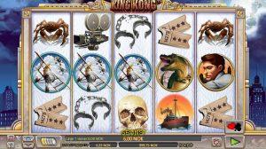 Spilleautomater gratis King Kong