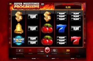Super Multitimes Progressive free spilleautomater