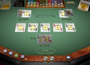 Videopoker Triple pocket Hold'em gratis