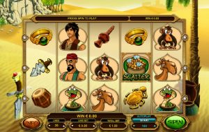 Alibaba and the 40 Thieves Online Slot