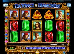 Da Vinci Diamonds Slot