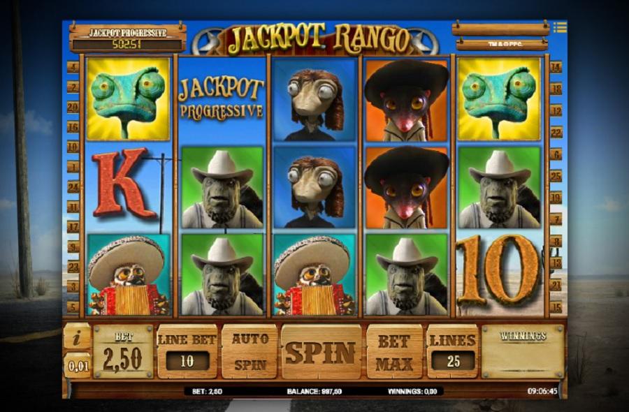 Jackpot Rango Casino Slot