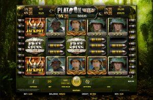 Platoon Wild Progressive Casino Slot