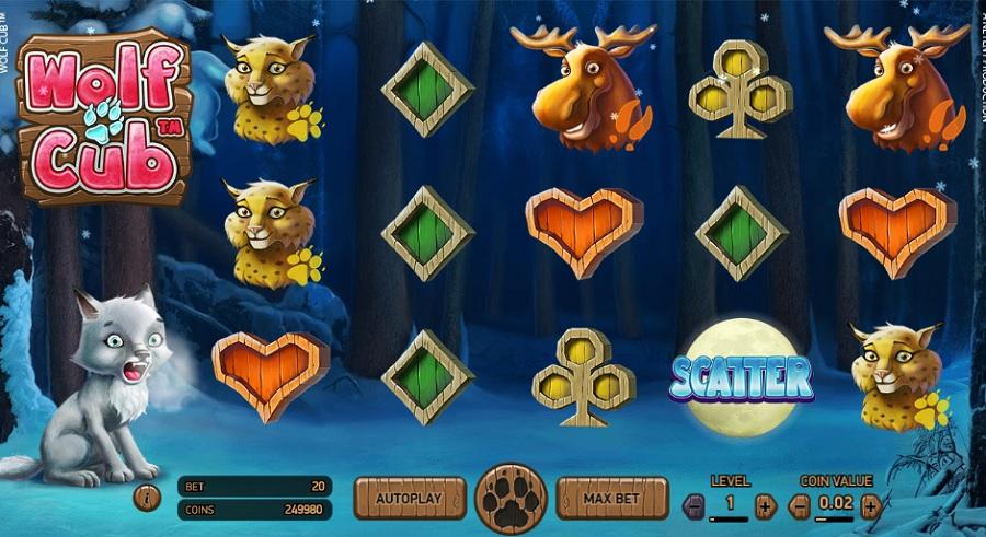 Wolf Cub Online Slot