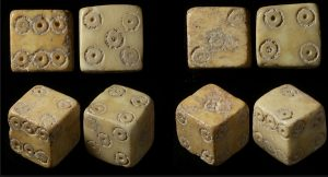 The ancient games of gambling